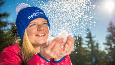 Reiteralm-Frau-Schnee